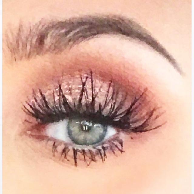 rosy gold smokey eye by makeupgeek